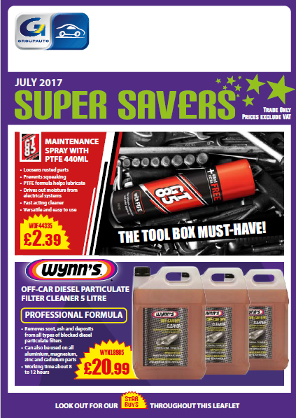 Check out our July Super Savers!!